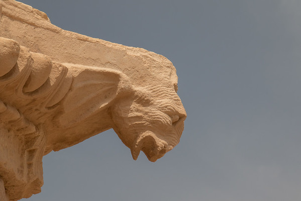 Roman gargoyle