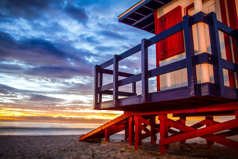 Guard Shack, Cocoa Beach, Florida