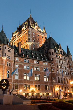 Evening at Chateau Frontenac