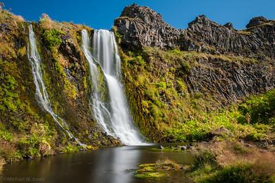 Gjarfoss, Gjáin River, Iceland