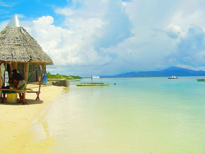 Snake Island in Puerto Princesa, Palawan