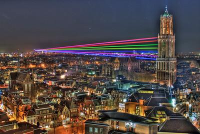 Sol Lumen art project, Utrecht, The Netherlands.