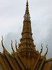 Brahma Spire Atop the Throne Hall in the Royal Palace Complex in Phnom Penh