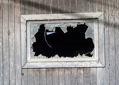BROKEN WINDOW UP NORTH