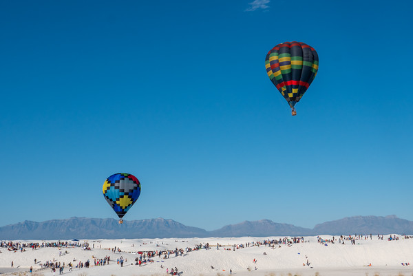 Two over White Sands
