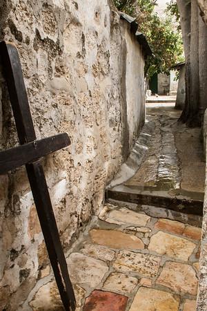 Along the Via Dolorosa