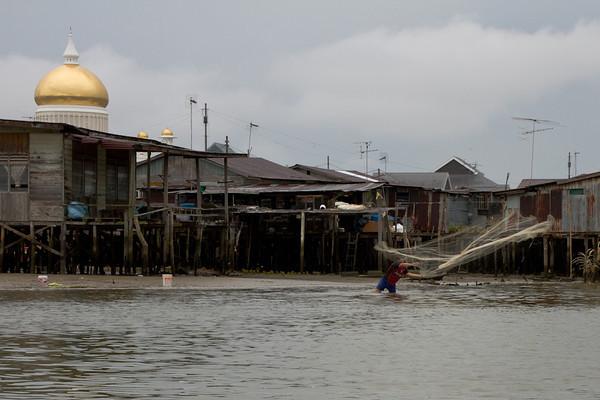 Brunei water village