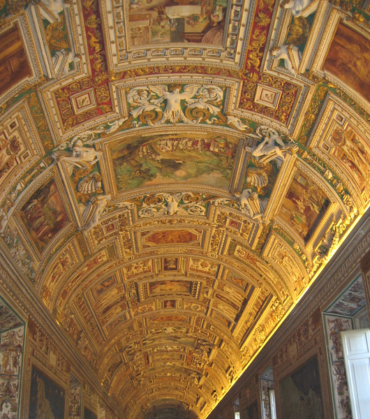 The Gallery of Maps in the Vatican Museum