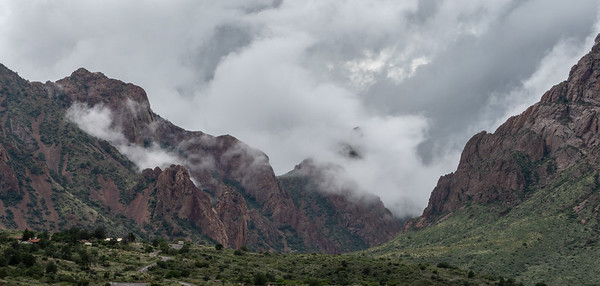Low Clouds in the Chisos Mountains