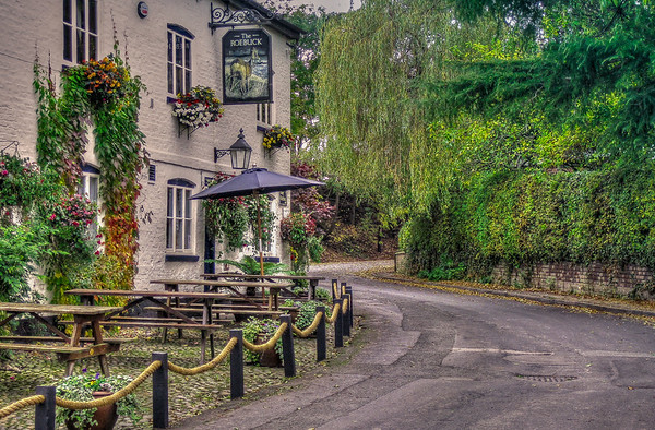 The Roebuck Inn, Mobberley, Cheshire, UK.