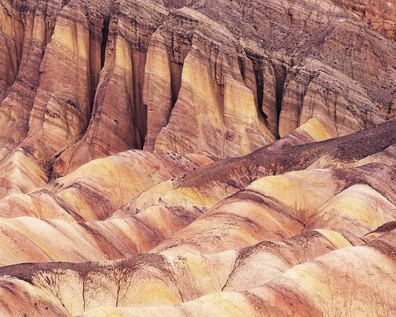 Golden Rocks Death Valley