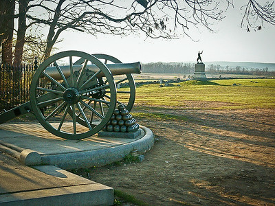 The Angle, High Watermark of The Confederacy, Gettysburg, PA. 2009.
