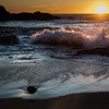 Sunset at McClures Beach, Point Reyes National Park, California