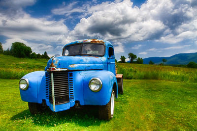 Dave's Truck in Vermont