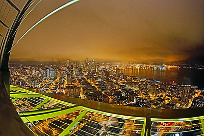 View from the Space Needle, Seattle, Washington