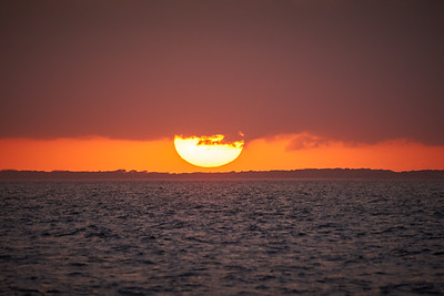 Sunset Over Cape Cod