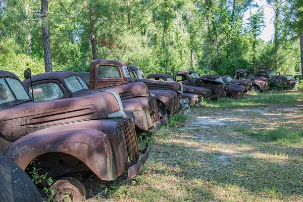 Rusting lineup