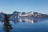 Refection at Crater Lake