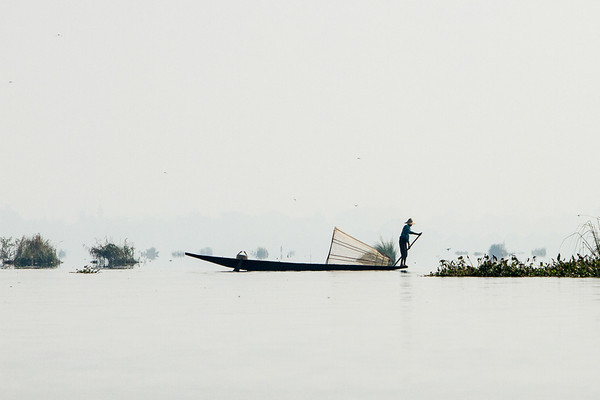 Early morning Inle Lake