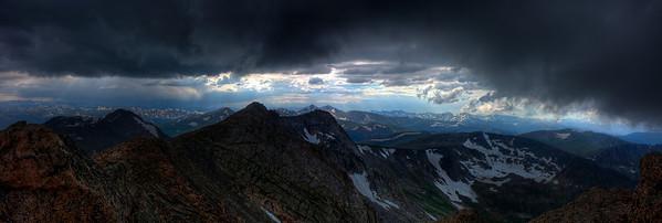 Mt Evans Storm