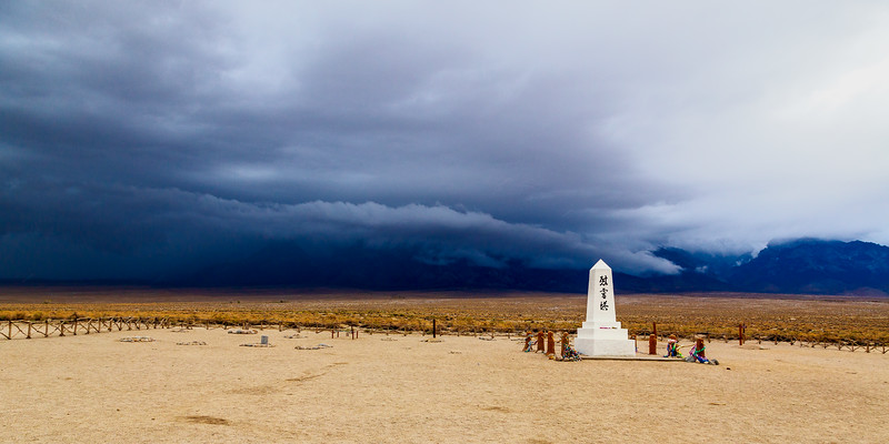 Manzanar Cemetary and Monument