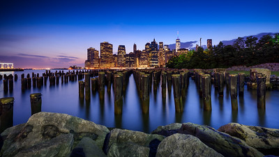 Blue Hour From Brooklyn