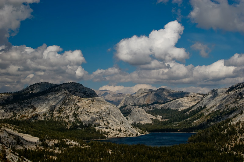 Tenaya Lake from the top of Olmstead Point
