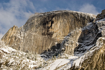 View of Half Dome from Mirror Lake
