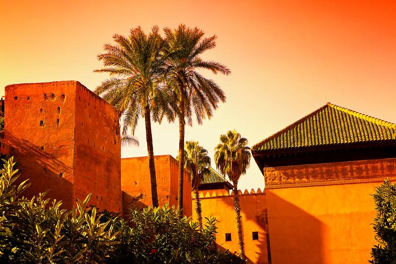 Marrakesh - Saadian Tombs