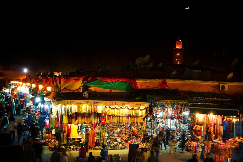 Marrakesh - Jemaa el-Fnaa
