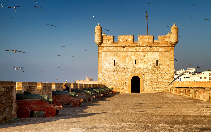 Essaouira - Harbour fortifications