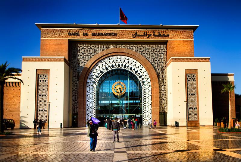 Marrakesh - Railway Station