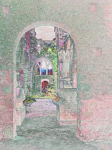 Abbaye de Beauport,Brittany~9961-3fe.