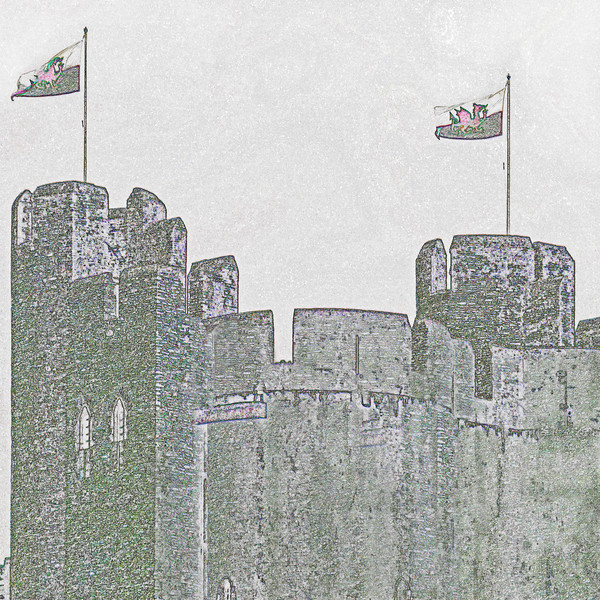 Caerphilly Castle~0267-2fes.