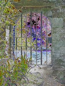 Abbaye de la Beauport,Brittany~9969-4inv.