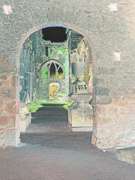 Abbaye de la Beauport,Brittany~9961-4inv.