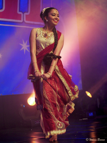Diwali Festival in Amstelveen, Holland.  Beautiful dancers and dancing...