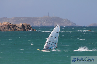 Windsurfers at Trestrignel