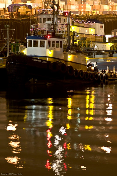 Tugboat, Seattle Waterfront