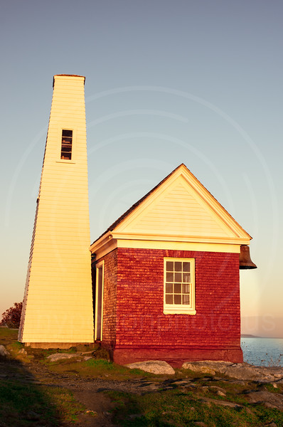 Pemaquid Point Light Bellhouse