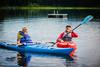 Geoffrey and Galen in Kayaks