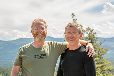 Geoffrey and Galen at Double Arrow Lookout
