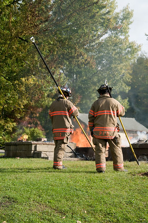 Controlled Burn - Salvation Army Camp