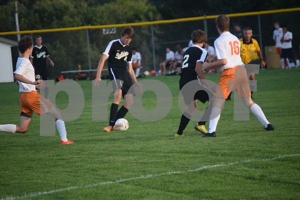 8-25-2016 Boys Soccer at Lake City