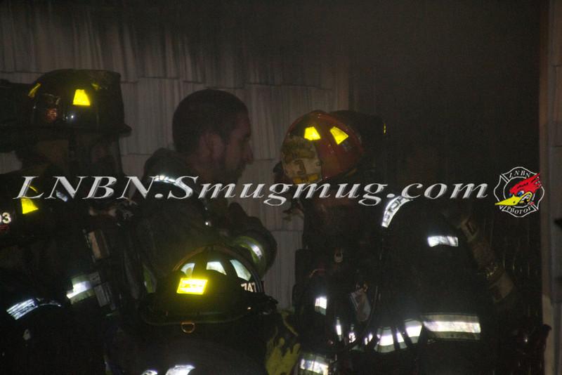 Plainview F D  House Fire 22 Brook Path 3-20-12-15
