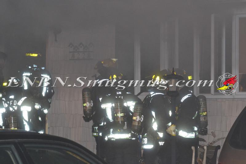 Plainview F D  House Fire 22 Brook Path 3-20-12-12