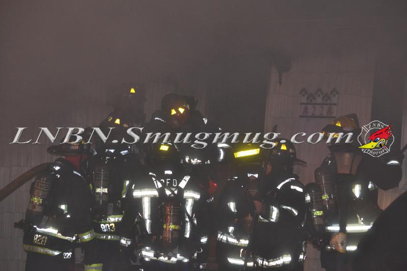 Plainview F D  House Fire 22 Brook Path 3-20-12-14