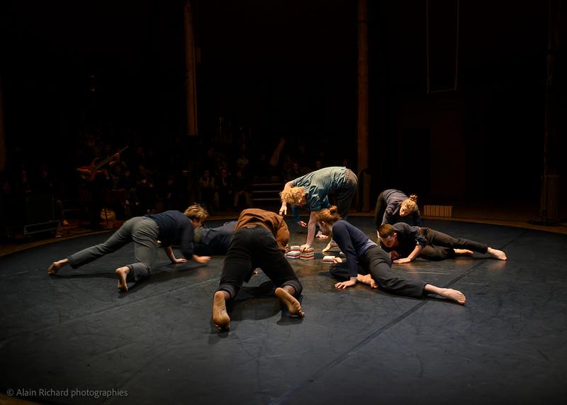 Cecilia Stock,   Jérémy Salar, Johnson Saint-Felix Simon Martin, Victoire Godard, Erika Matagne