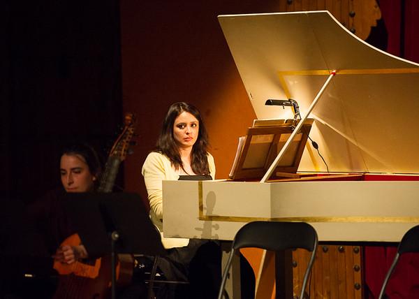 Ana Villamayor, clavecin