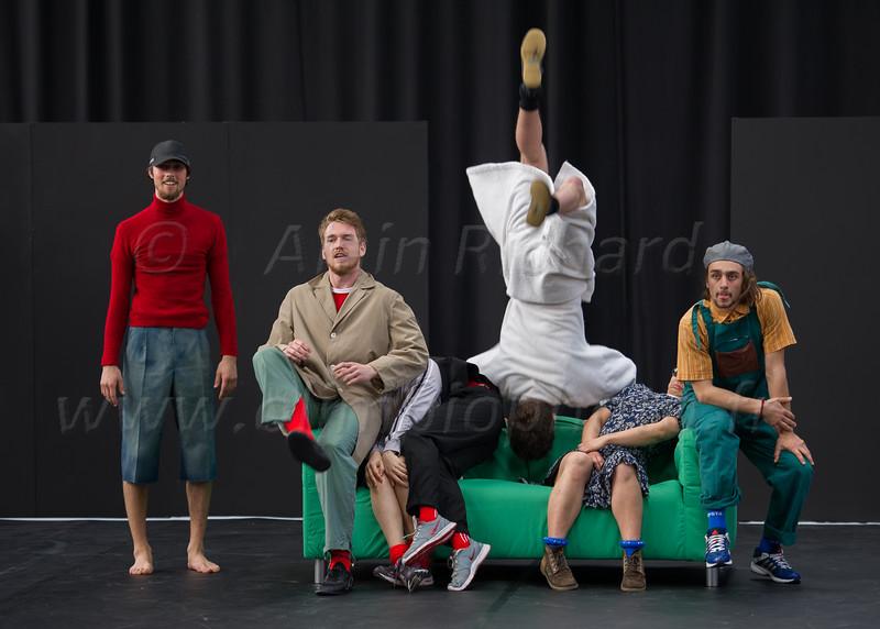 Léo Manipoud,  Per Julian Saether, Francisco Rosa, Ambroise Donnier, Mélodie Morin, Aloïs Riché